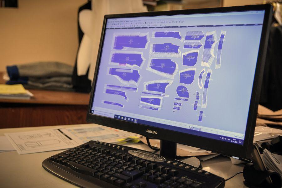 Odeva Lipany - Konštrukčný systém na spracovanie strihovej dokumentácie