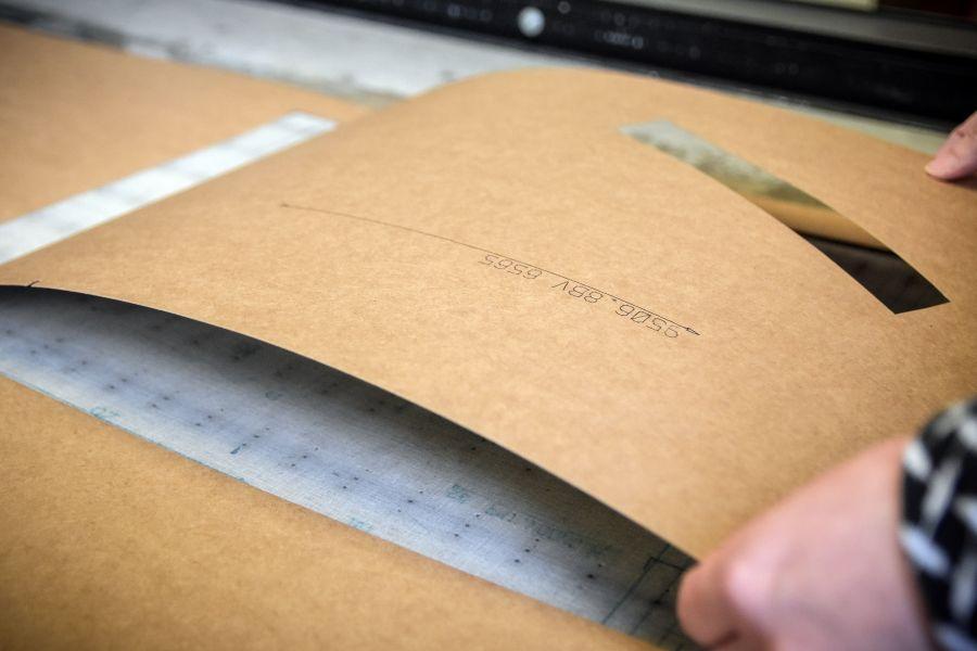 Odeva Lipany - Vektorový ploter pre vyrezanie strihárenskych a dielenských šablón